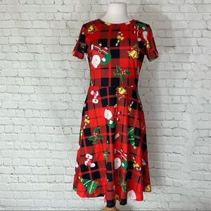 Plaid Christmas Dress